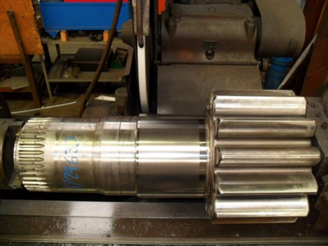 Gearbox Output Shaft Precision Machining