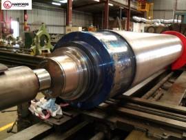 60 Ton Top Roll - Bearing Journal Repair