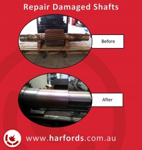 Thermal Spray Shaft Repair